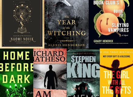 Terrifying Books with Halloween Themed Creatures ~ Lit Happens Book Club
