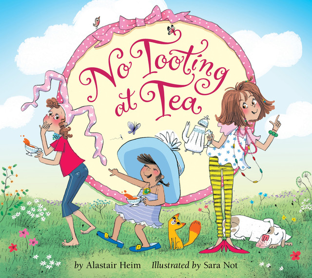 No Tooting at Tea FRONT COVER