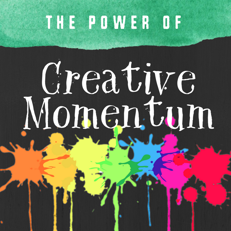 Forget inspiration. Try creative momentum.