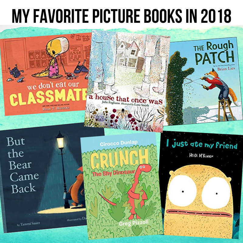 My Favorite Picture Books in 2018