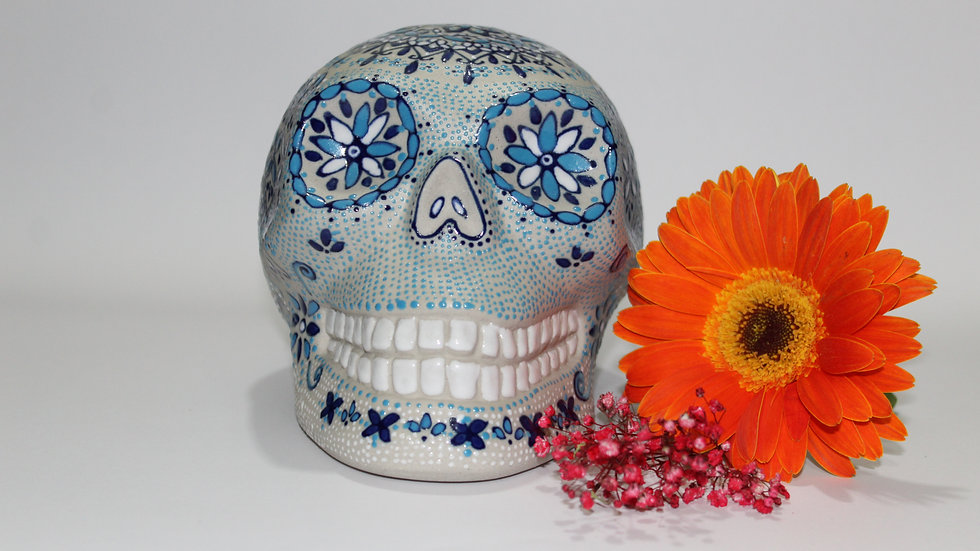 Alcancía calaverita mexicana