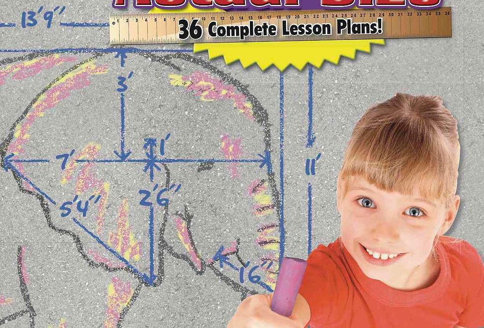 Actual Size—Science: Easily Create Full-Scale Drawings on Your Playground!