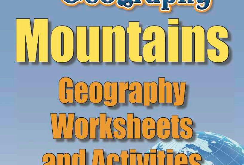 Amazing World Record of Geography: MOUNTAINS—Worksheets and Activities