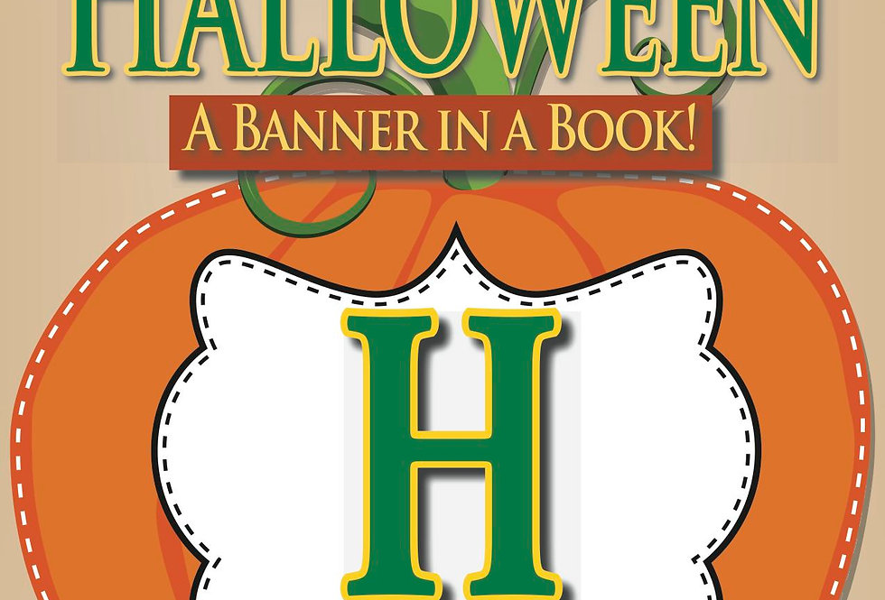 Happy Halloween—A Banner in a Book!