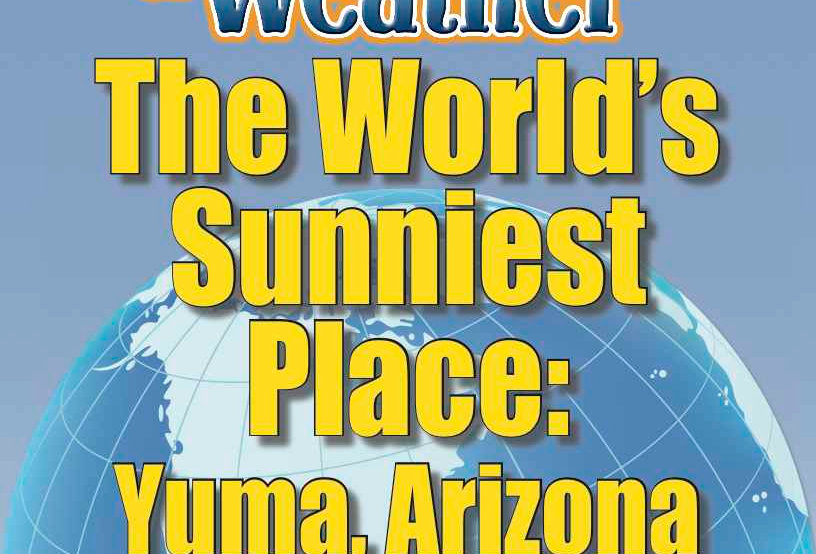 Amazing World Record of Weather: SUNNIEST PLACE—Worksheets and Activities