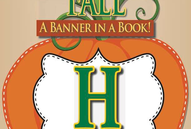 Happy Fall—A Banner in a Book!