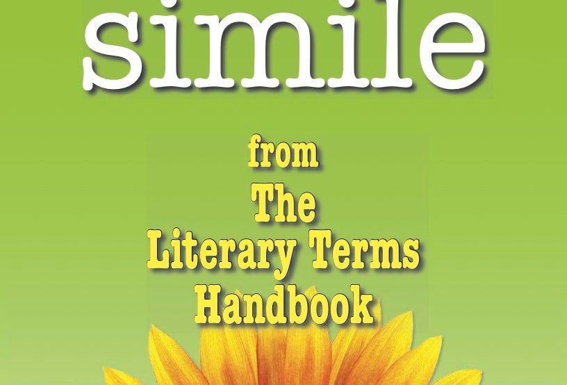 Literary Terms: SIMILE