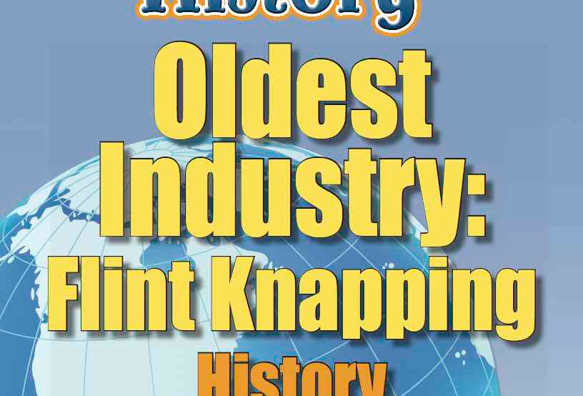 Amazing World Record of History: OLDEST INDUSTRY—Worksheets and Activities