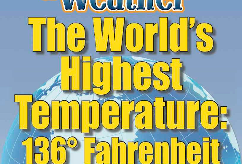 Amazing World Record of Weather: HIGHEST TEMPERATURE—Worksheets and Activities