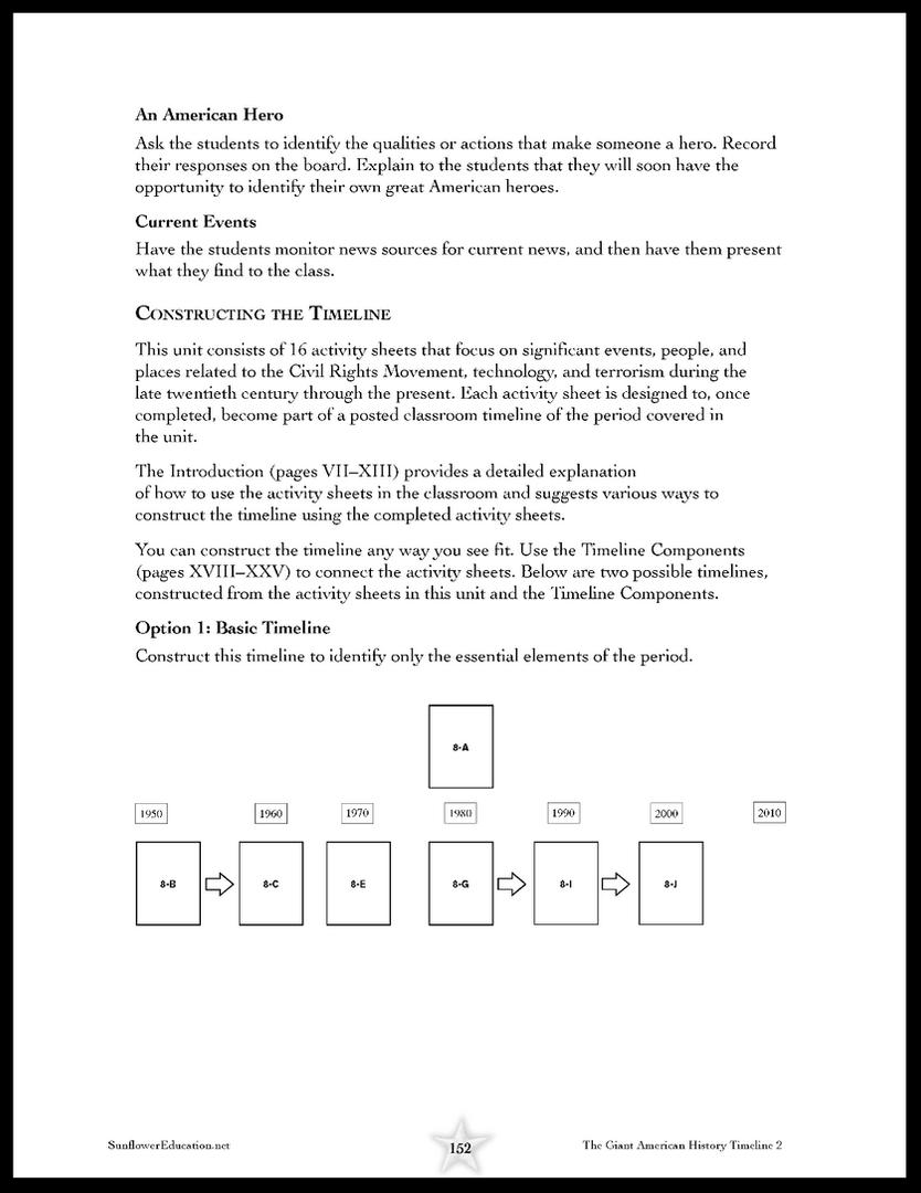 Basic Timeline Plans