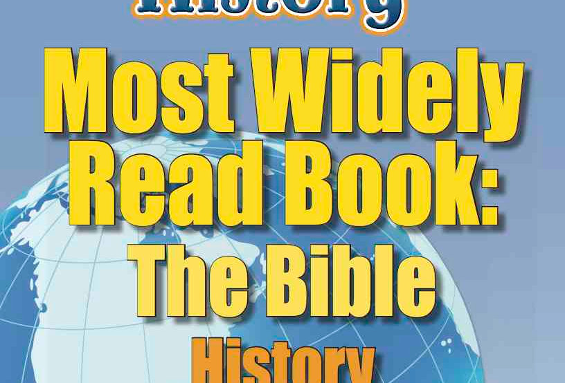 Amazing World Record of History: MOST WIDELY READ BOOK—Worksheets and Activities