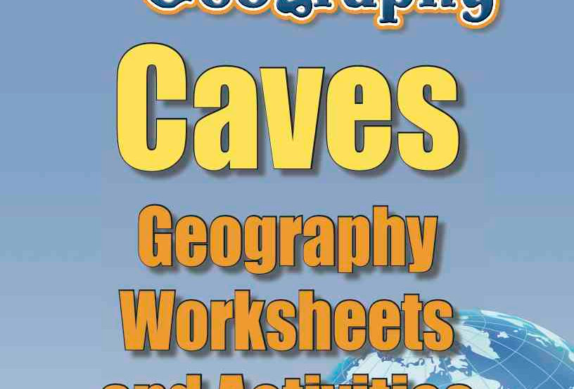 Amazing World Record of Geography: CAVES—Geography Worksheets and Activities