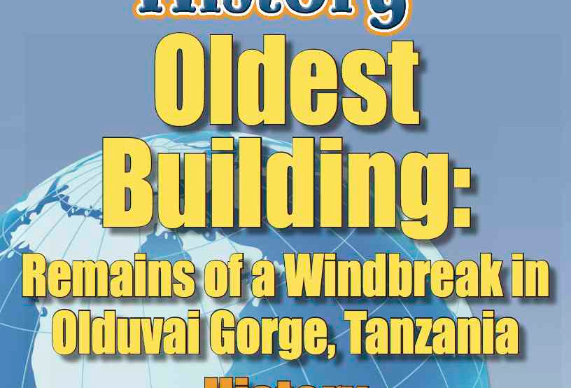 Amazing World Record of History: OLDEST BUILDING—Worksheets and Activities