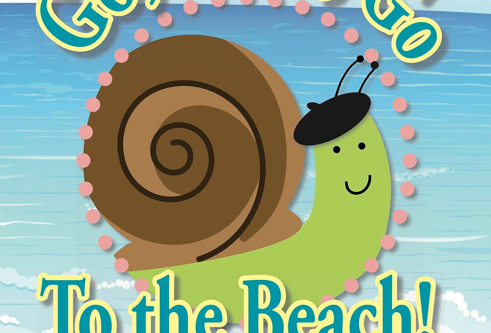Go, Escar, Go To the Beach!—French Vocabulary Cards and Matching Game