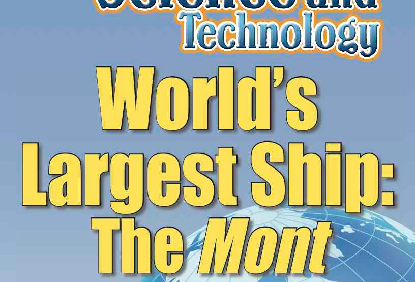 Amazing World Record of Science and Technology: LARGEST SHIP—Worksheets