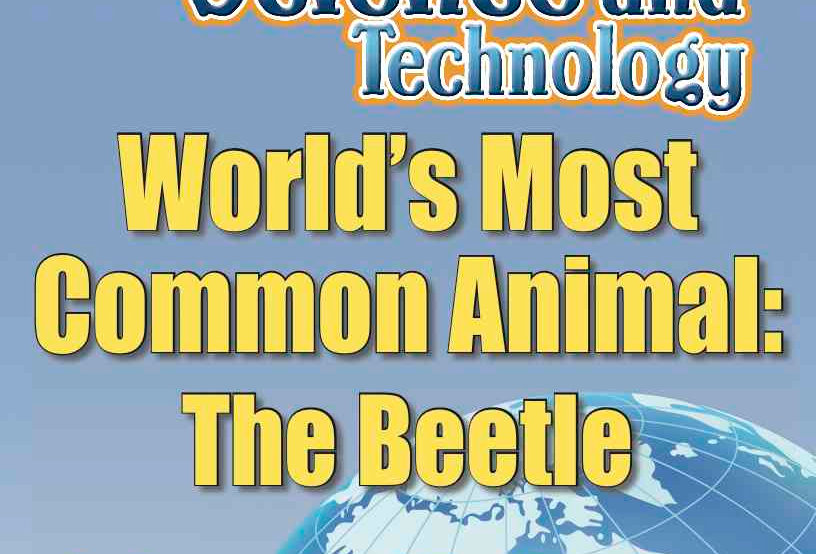 Amazing World Record of Science: MOST COMMON ANIMAL—Worksheets and Activities