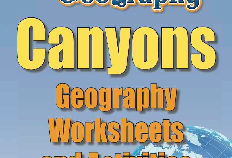 Amazing World Records of Geography: CANYONS—Geography Worksheets and Activities