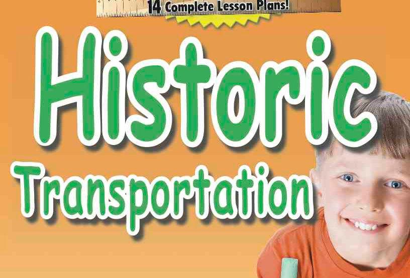 Actual Size—Social Studies: HISTORIC TRANSPORTATION
