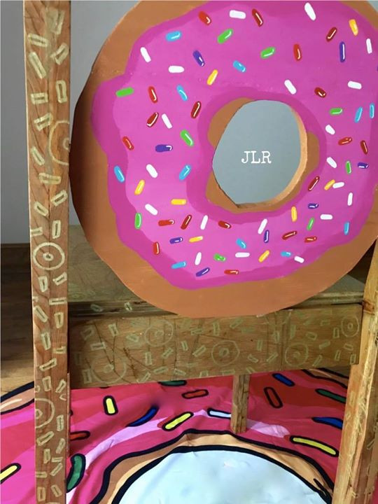 Back of Donut Chair