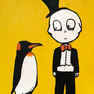 Schumer_penguinpainting