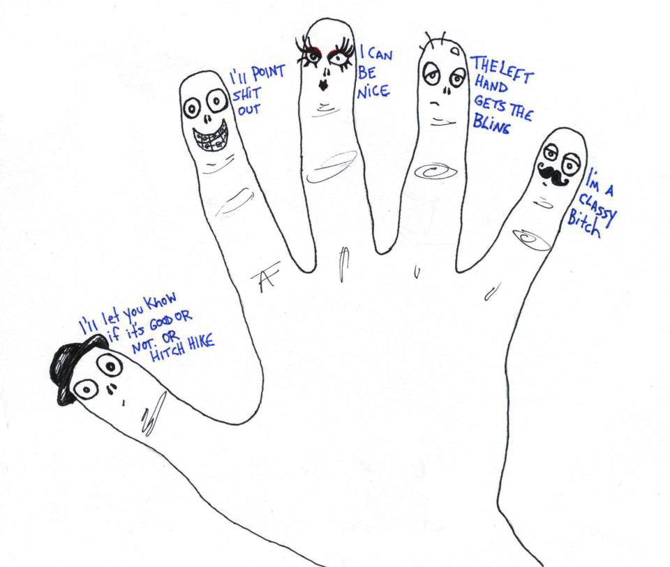 Sassy fingers