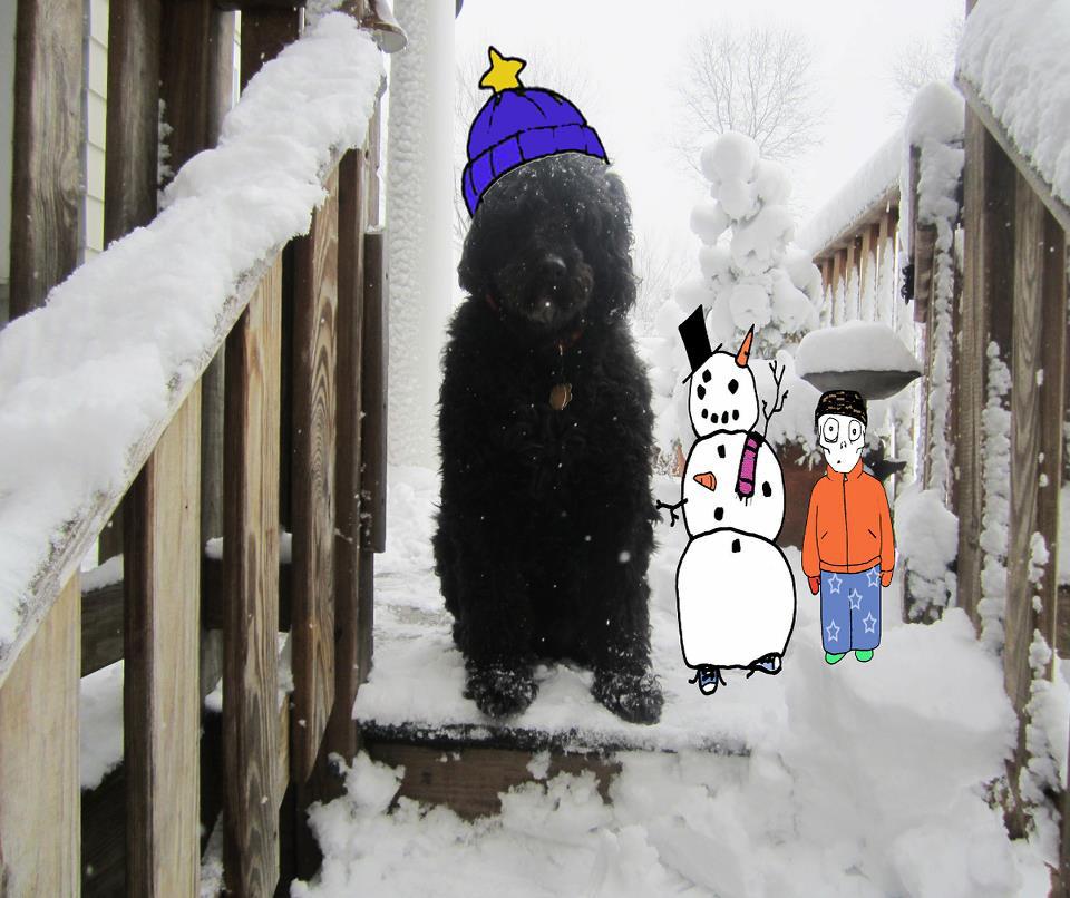 Elvis Build A Snowman