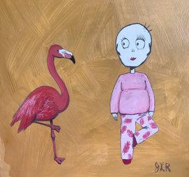 Eight_flamingopainting