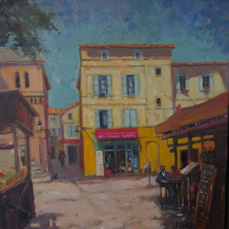 Lunch Time in Arles (Van Gogh Studio)