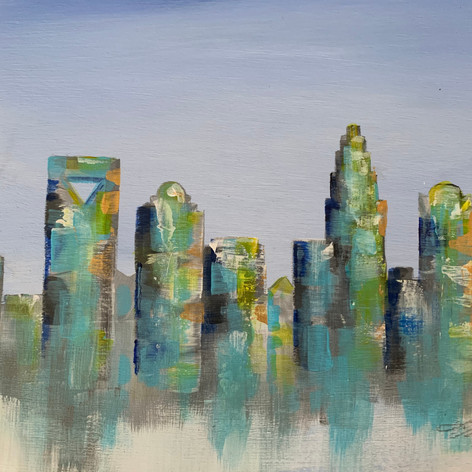 Charlotte Skyline Series - Spring in the City