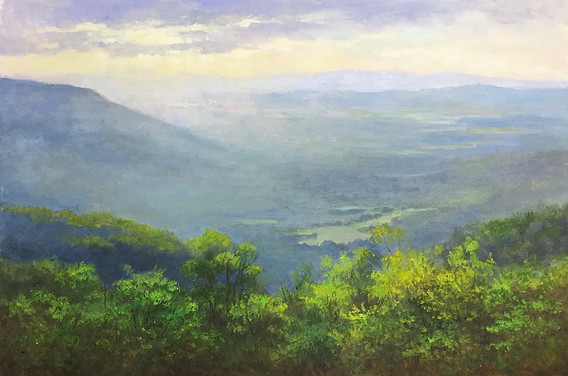 """""""The Blue Ridge Mountains in June"""""""