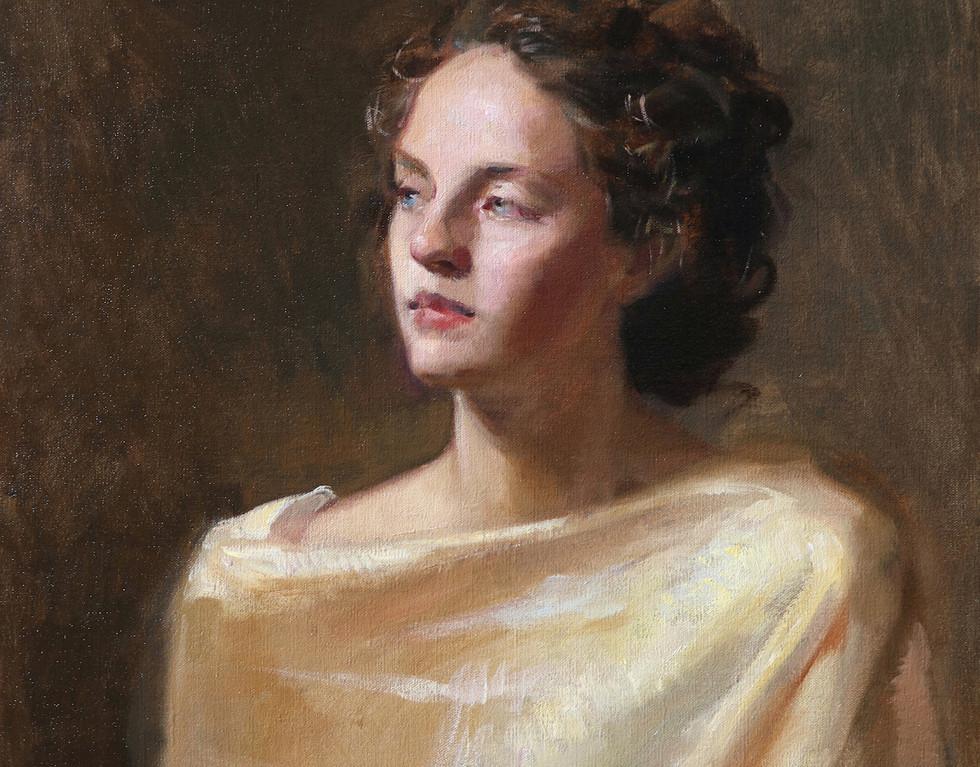 Ylenia portrait study