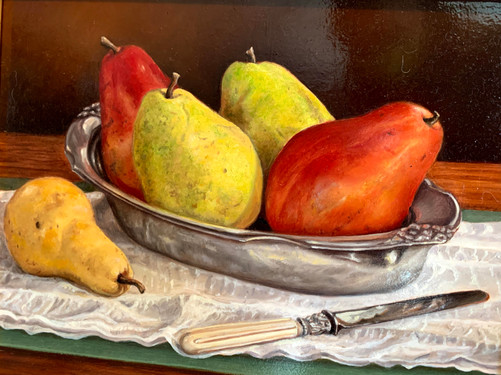 Pears on a Silver Platter