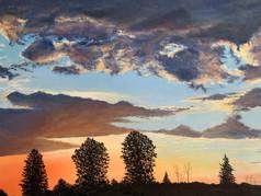 Blue Ridge Sunset II