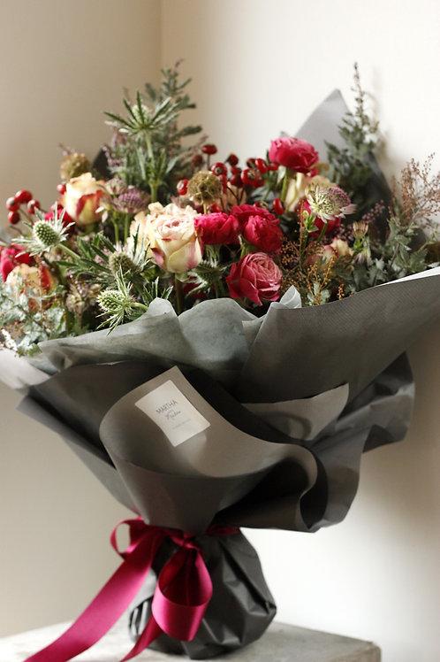 Very Berry Kiss Winter Bouquet