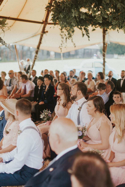 Foliage Hoop - Dorset Wedding