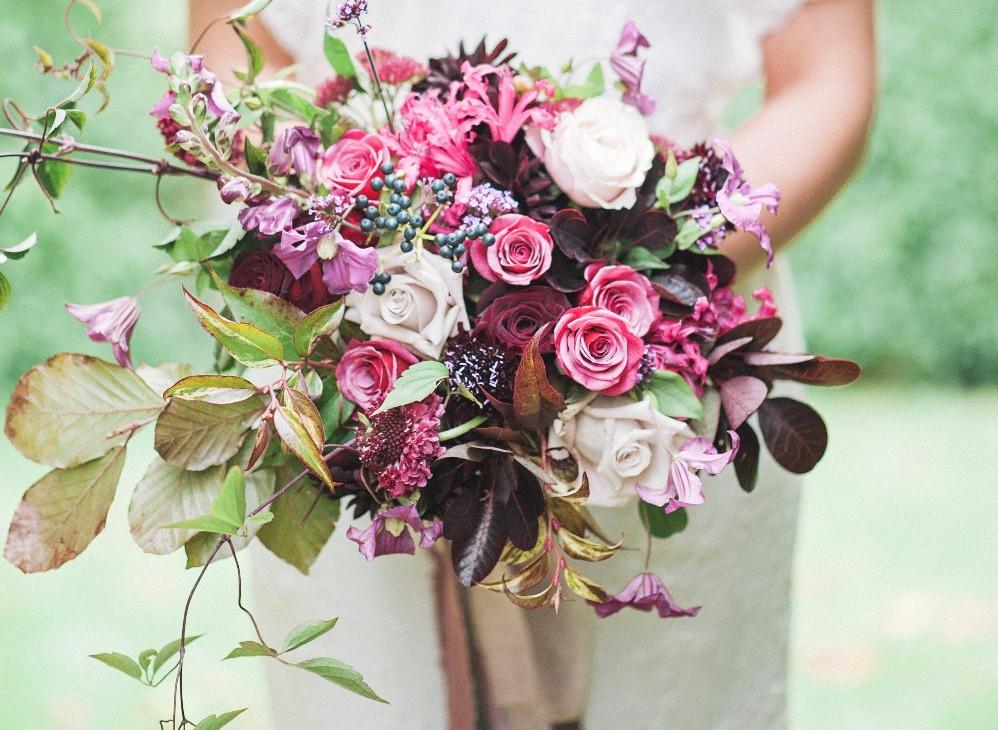 Autumn Bridal Bouquet
