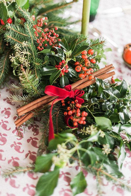 Very Merry Berry Christmas Arrangement | Dorset Florist