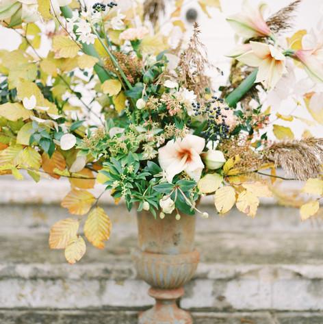 Winter Wedding Arrangements