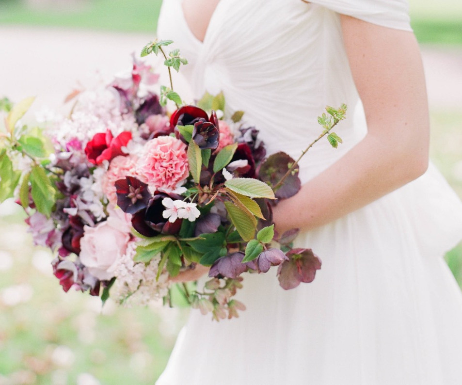 Spring Bridal Bouquet - Hill Place