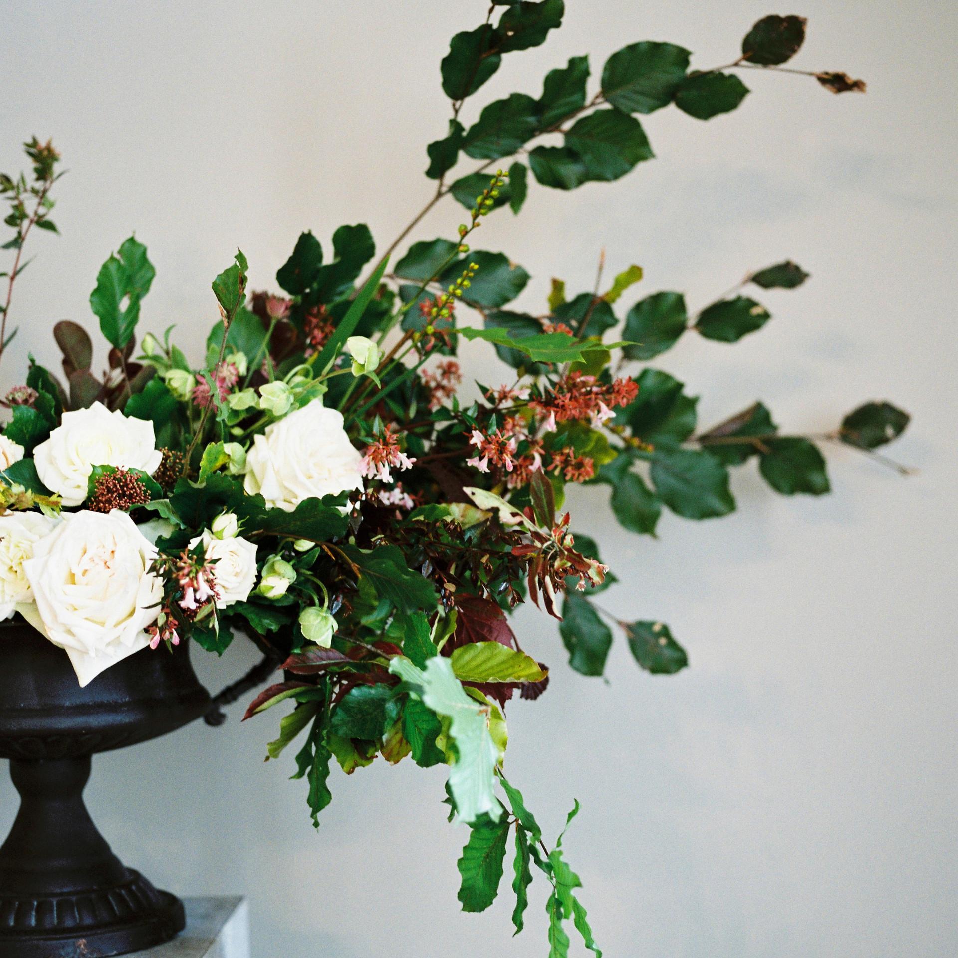 St Giles House Wedding Flowers