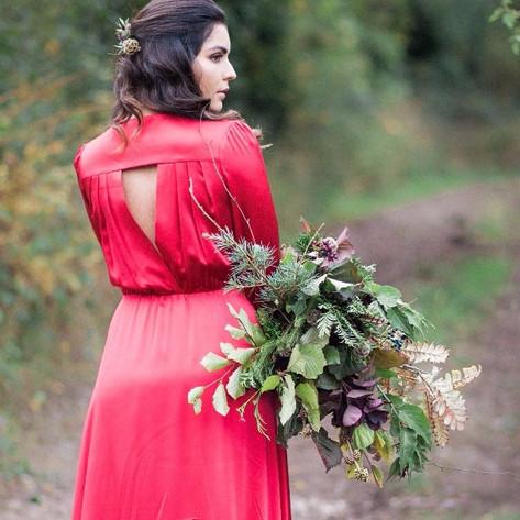 Autumn Foliage Bouquet.
