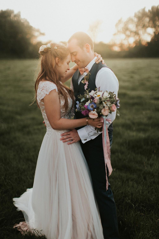 Dorset florist - real wedding