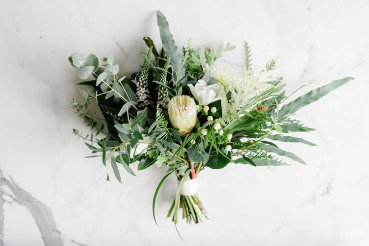 Jessica's Bridal Bouquet