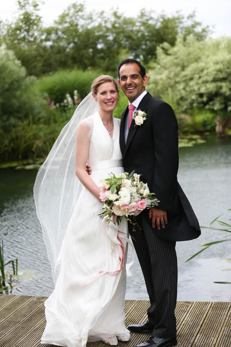 Perfect village and marquee wedding for Ash and Philippa in Dorset.