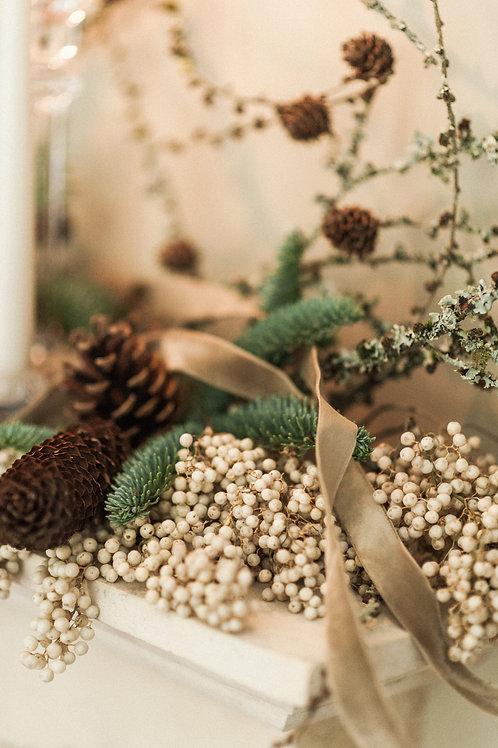 Silent Night Christmas Arrangement | Dorset Florist