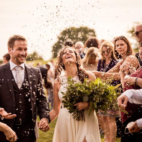 Autumn wedding for Hannah in Dorset