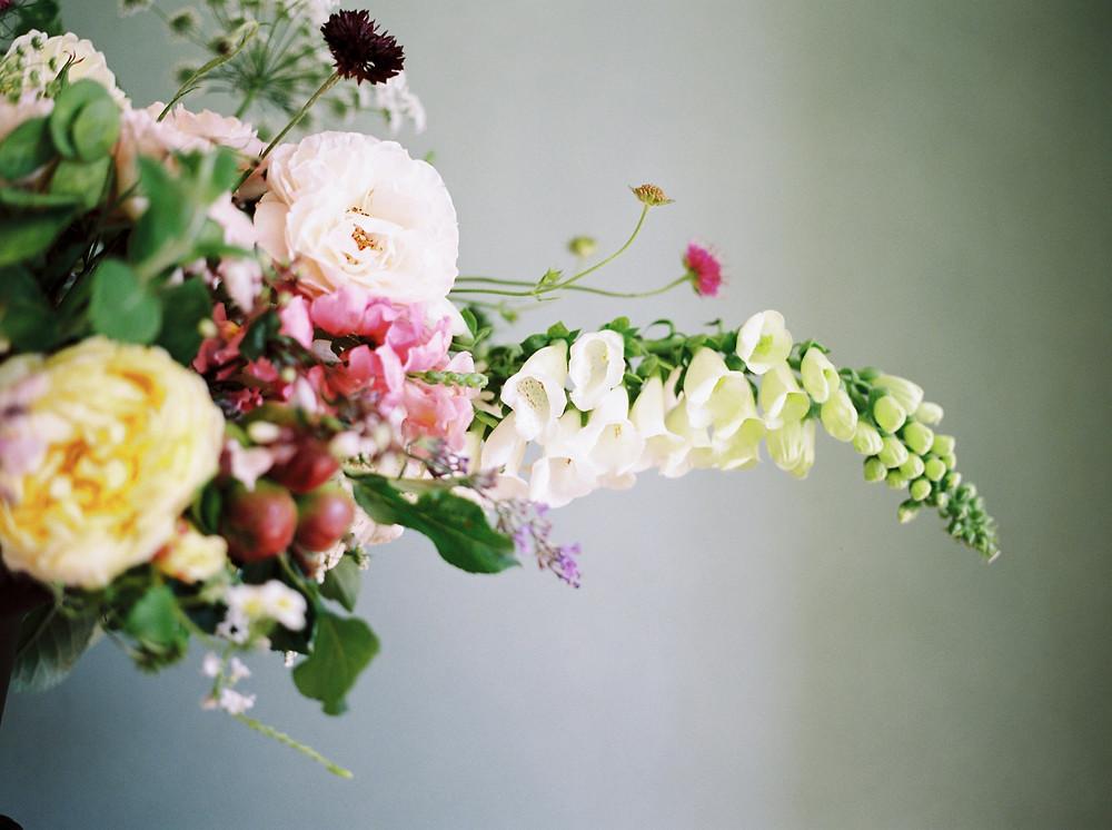 British Flowers for Dorset Wedding