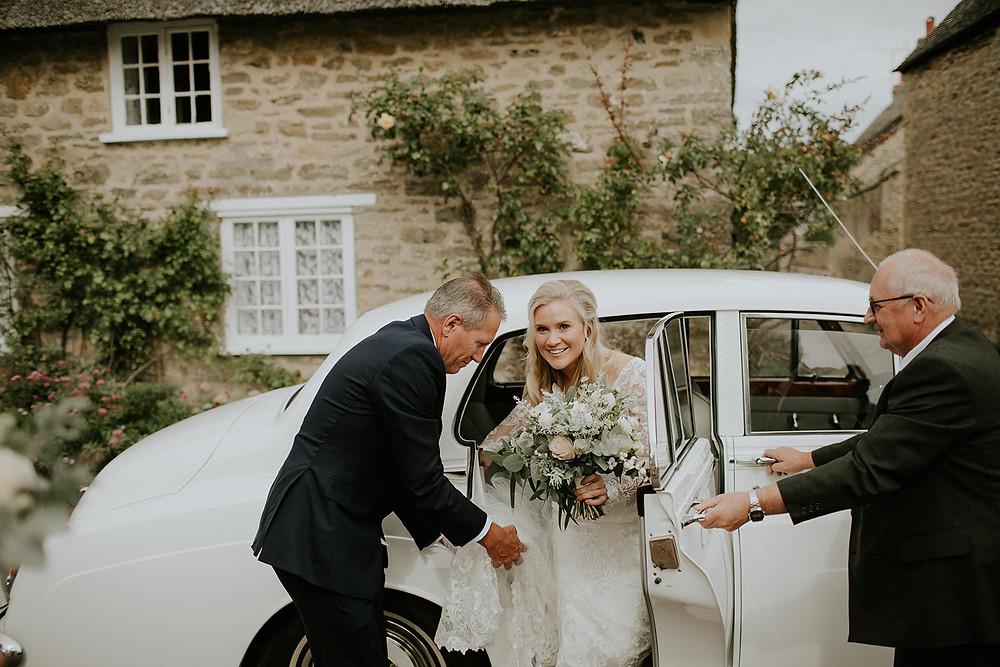 Wedding at Axnoller - Dorset Florist