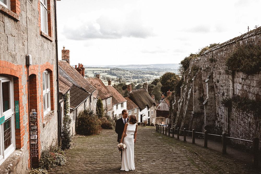 Real Dorset Wedding - Gold Hill Shaftesbury