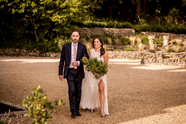 Foliage Frenzy for Hannah and Luke